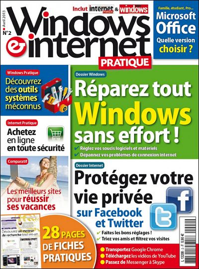 Windows et Internet Pratique N°2 - Réparez tout Windows sans effort !