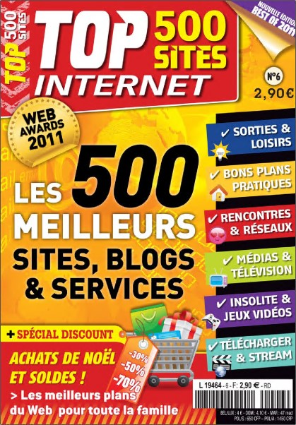 Top 500 Sites Internet N°06 - Les 500 Meilleurs Sites, Blogs et Services