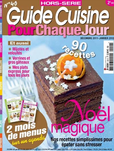 Guide Cuisine Hors-Serie N°40 - Pour chaque jour