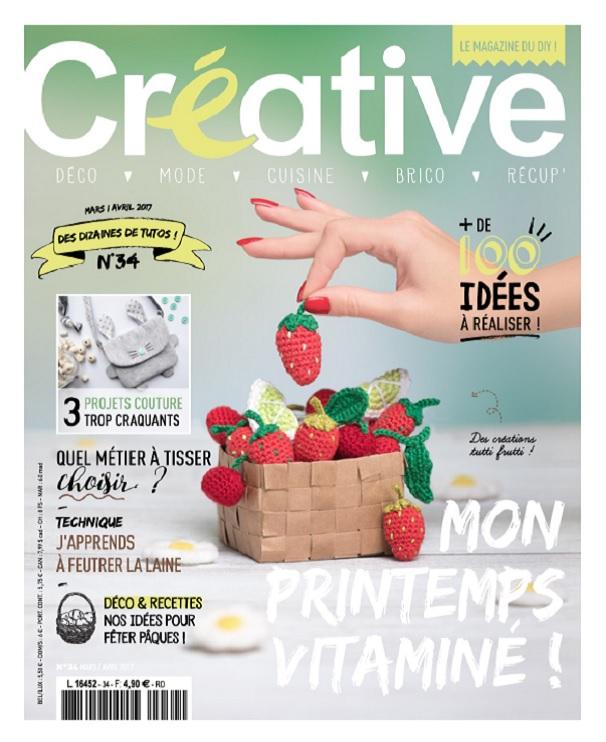 Créative N°34 - Mars-Avril 2017