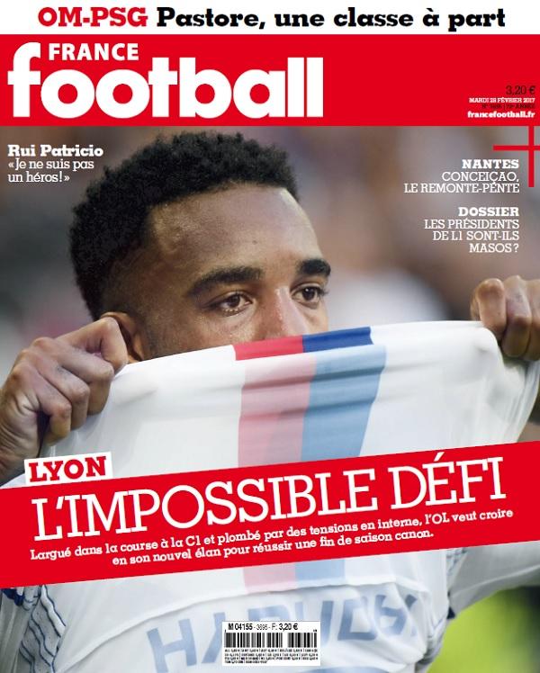 France Football N°3695 Du 28 Février 2017