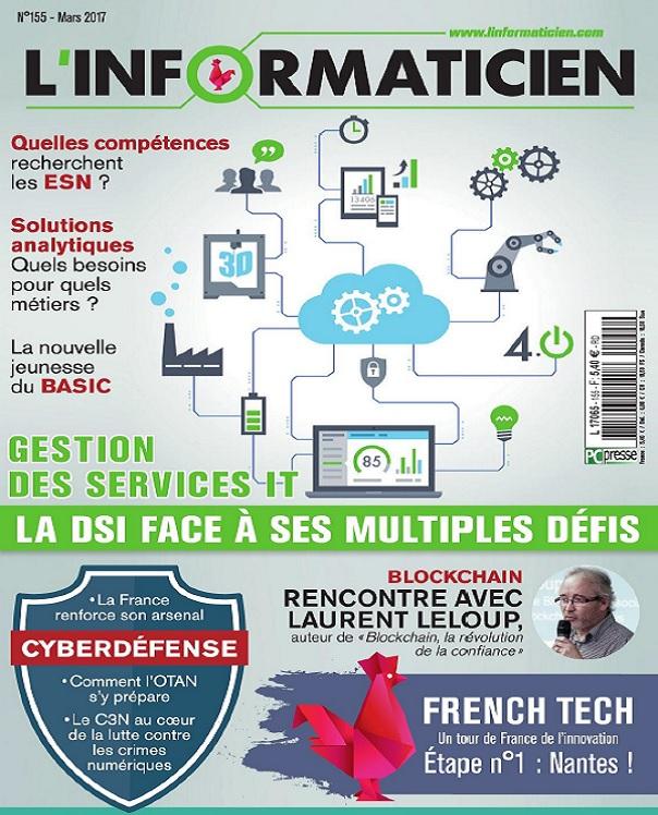 télécharger L'Informaticien N°155 - Mars 2017