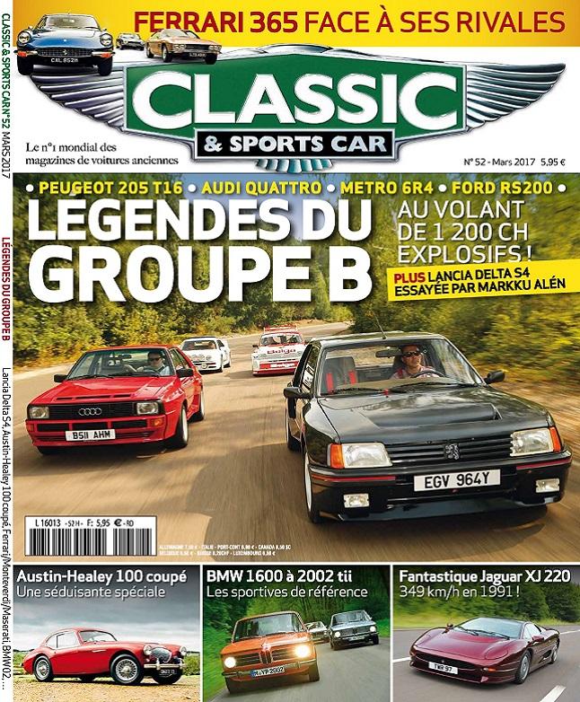 télécharger Classic et Sports Car N°52 - Mars 2017