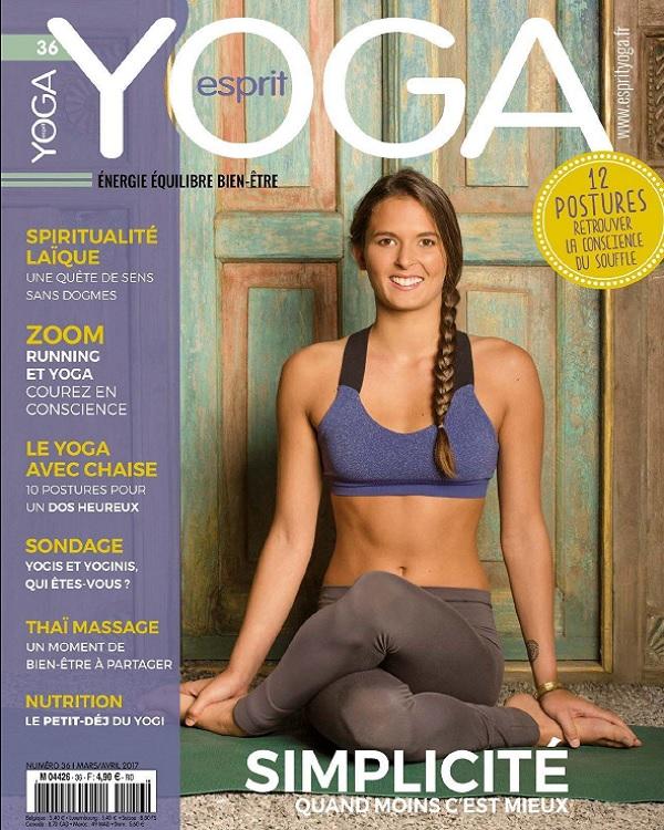 télécharger Esprit Yoga N°36 - Mars-Avril 2017