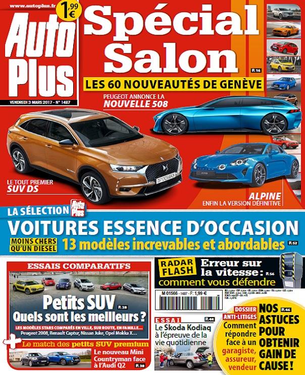 télécharger Auto Plus N°1487 Du 3 au 9 Mars 2017