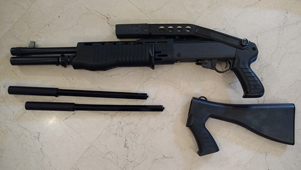 AK roumain / tactical + Fusil a pompe spas12 + 4 Revolvers + Sniper m24 snow wolf + AK bizon + glock + merdouilles 170303103416170807