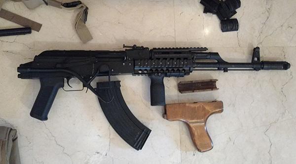 AK roumain / tactical + Fusil a pompe spas12 + 4 Revolvers + Sniper m24 snow wolf + AK bizon + glock + merdouilles 170303103440557332