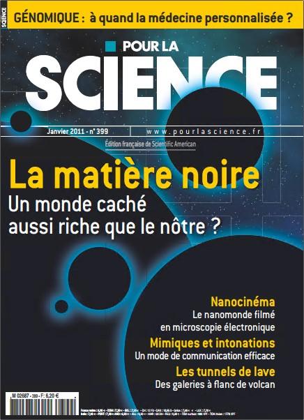Pour la Science N°399 - La Matière Noire