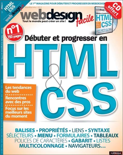Web Design Facile N°1 - Débuter et progresser avec HTML & CSS sur Bookys