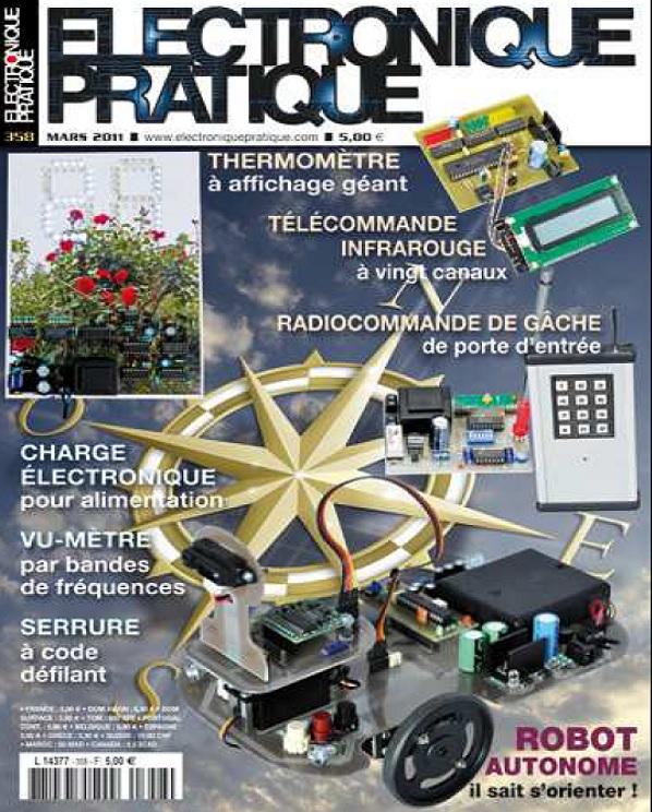 télécharger Electronique Pratique N°358 - Robot Autonome