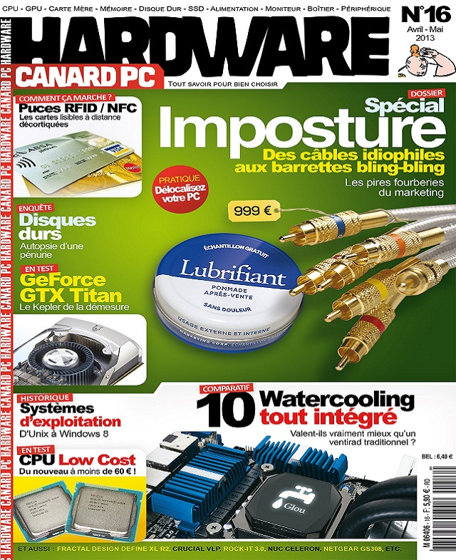 télécharger Canard PC Hardware N°16 - Dossier Spécial Imposture