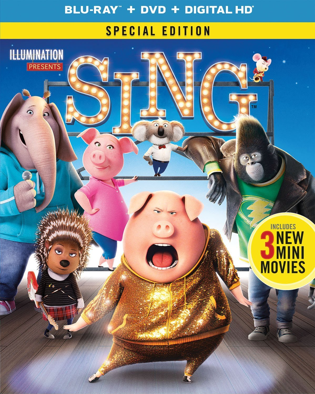 Sing (2016) poster image