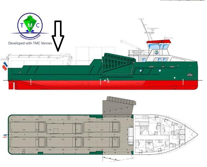Goulphar nouveau bateau pour TMC  17030804094382629
