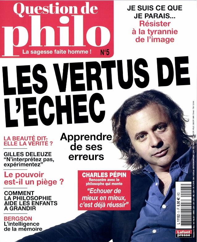 télécharger Question De Philosophie N°5 - Mars-Mai 2017