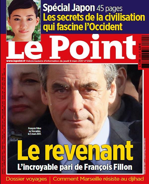 télécharger Le Point N°2322 Du 9 Mars 2017