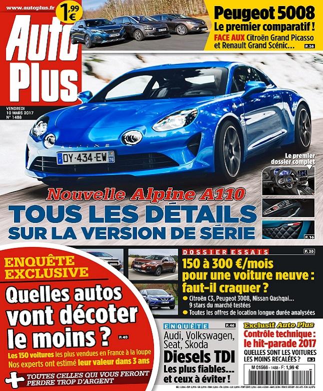 télécharger Auto Plus N°1488 Du 10 au 16 Mars 2017