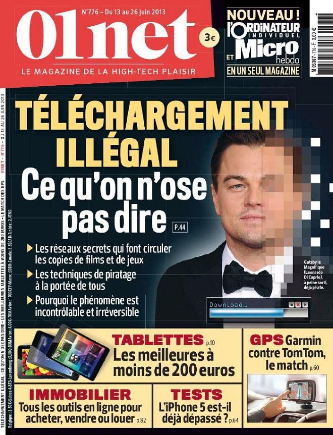 01net N°776 - Téléchargement illégal : ce qu'on n'ose pas dire
