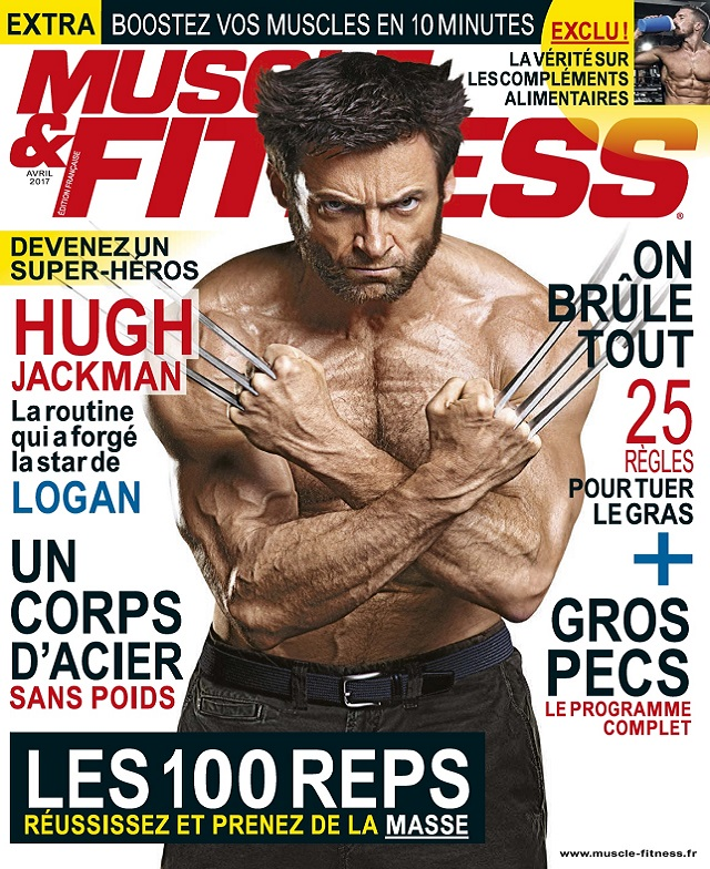 Muscle et Fitness N°354 - Avril 2017