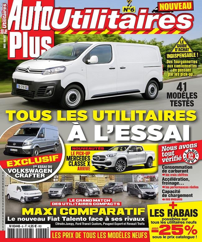 télécharger Auto Plus Utilitaires N°6 - Mars-Mai 2017