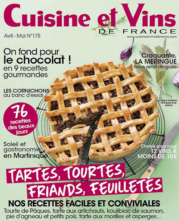 télécharger Cuisine et Vins De France N°175 - Avril-Mai 2017