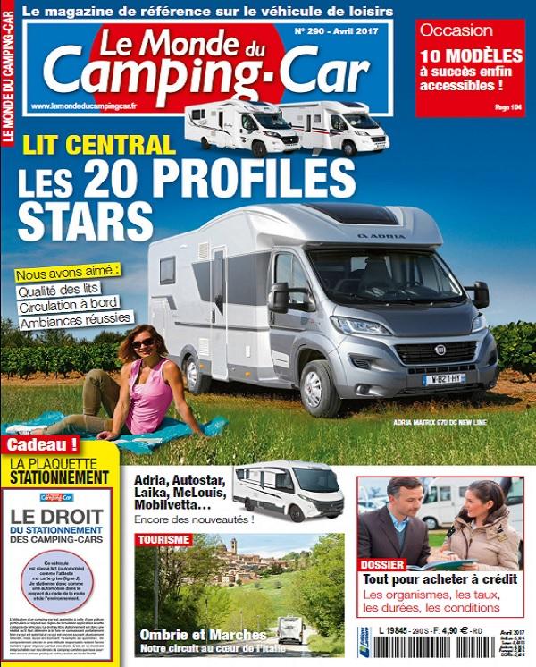 télécharger Le Monde Du Camping-Car N°290 - Avril 2017
