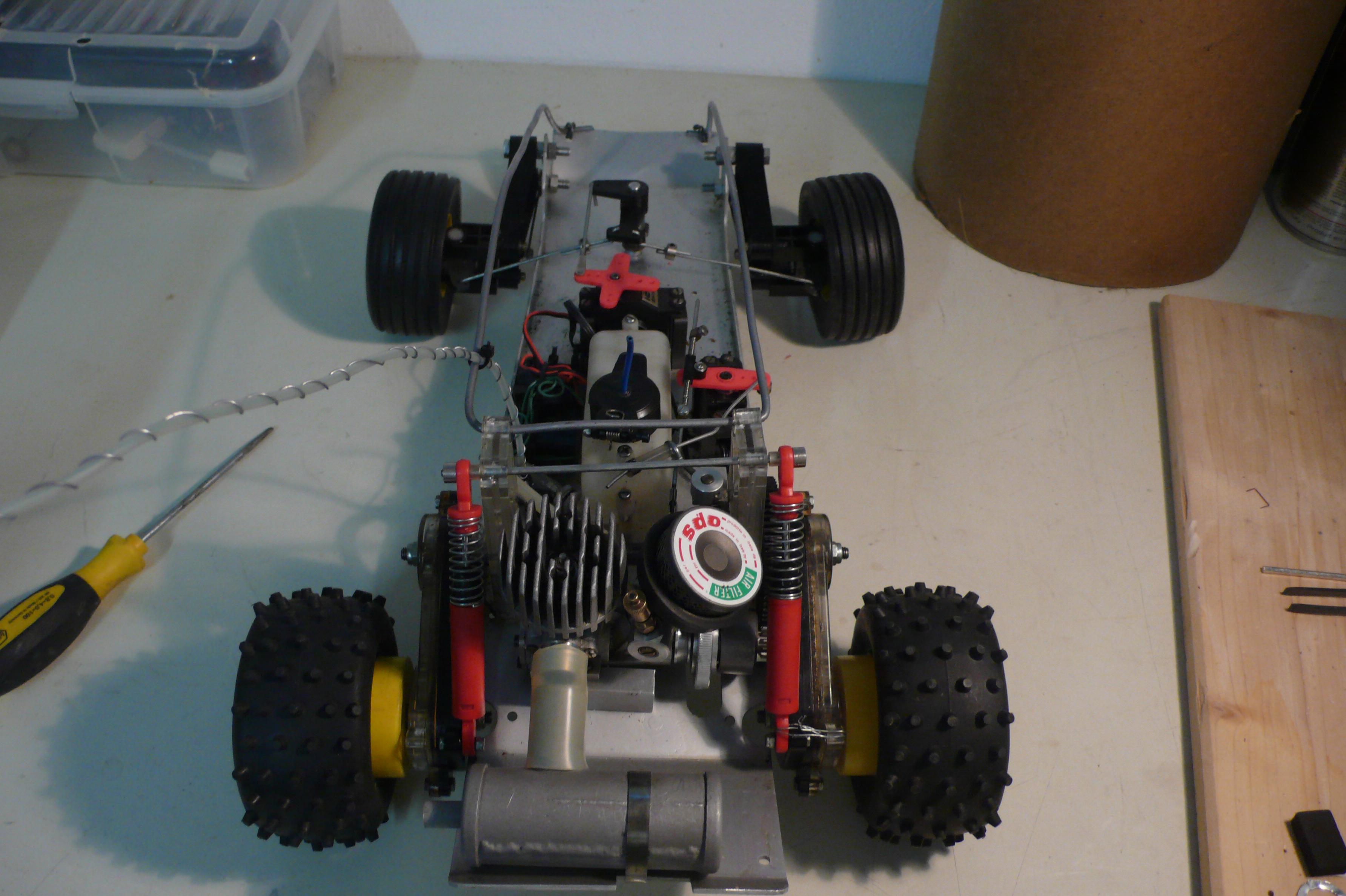 MACHO SICCOM voiture radiocommandée TT 1//8 Thermique VINTAGE vieux buggy