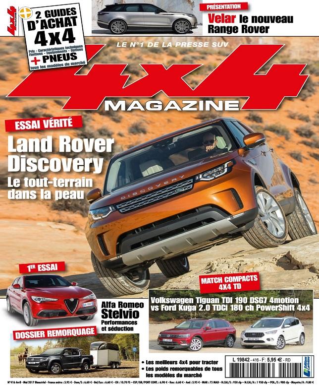 télécharger 4x4 Magazine N°416 - Avril-Mai 2017