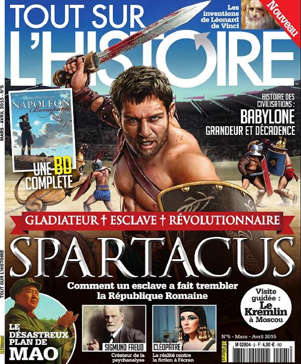 télécharger Tout Sur L'Histoire N°5 - Spartacus