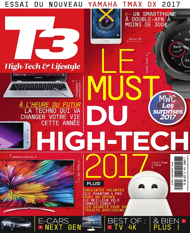 T3 High-Tech Magazine N°14 - Mars 2017