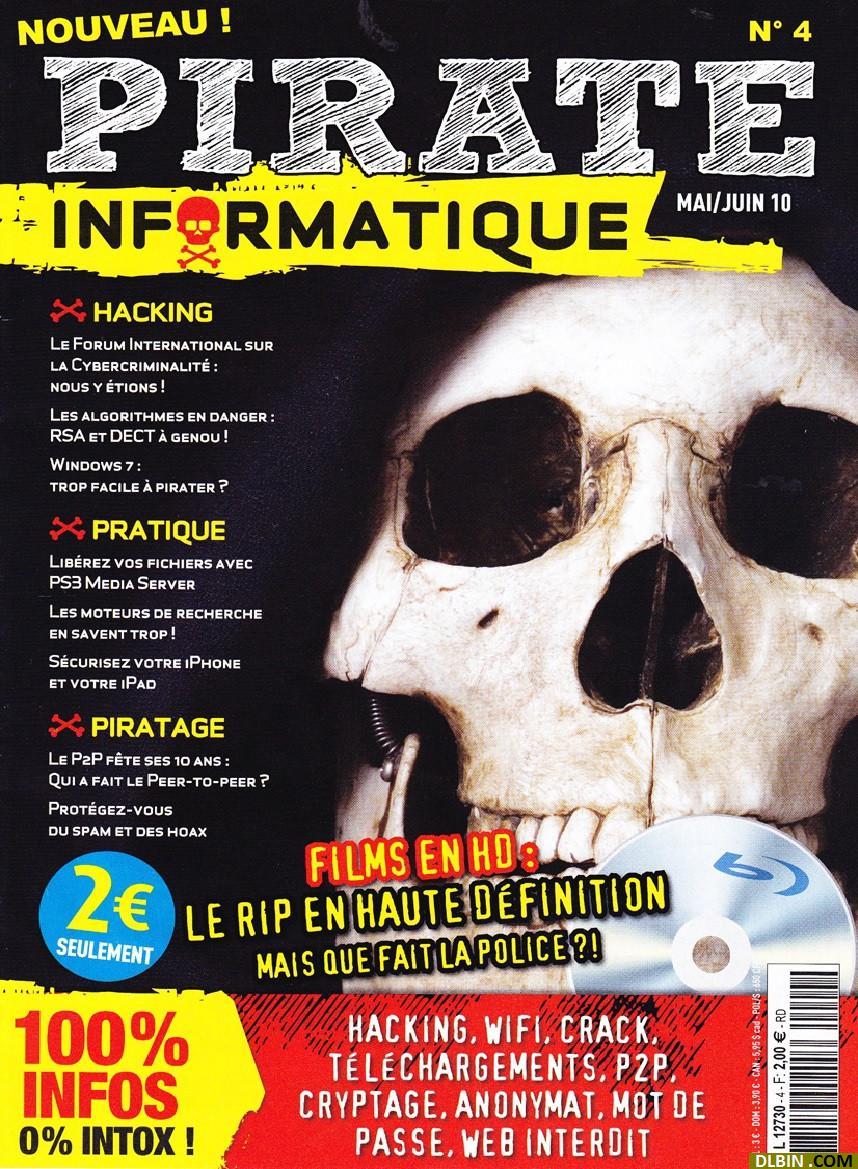 Pirate Informatique N°4 - Films en HD : Le Rip en Haute Définition