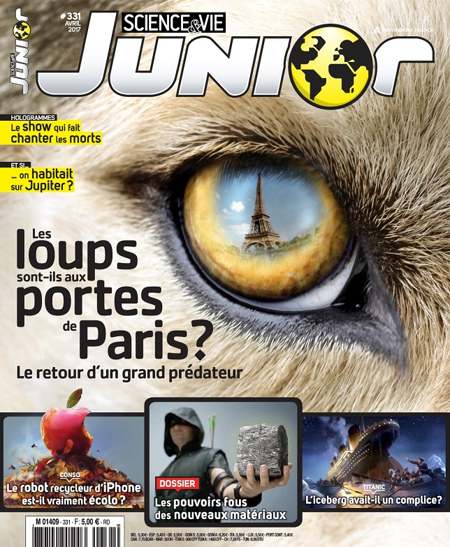 Science et Vie Junior N°331 - Avril 2017