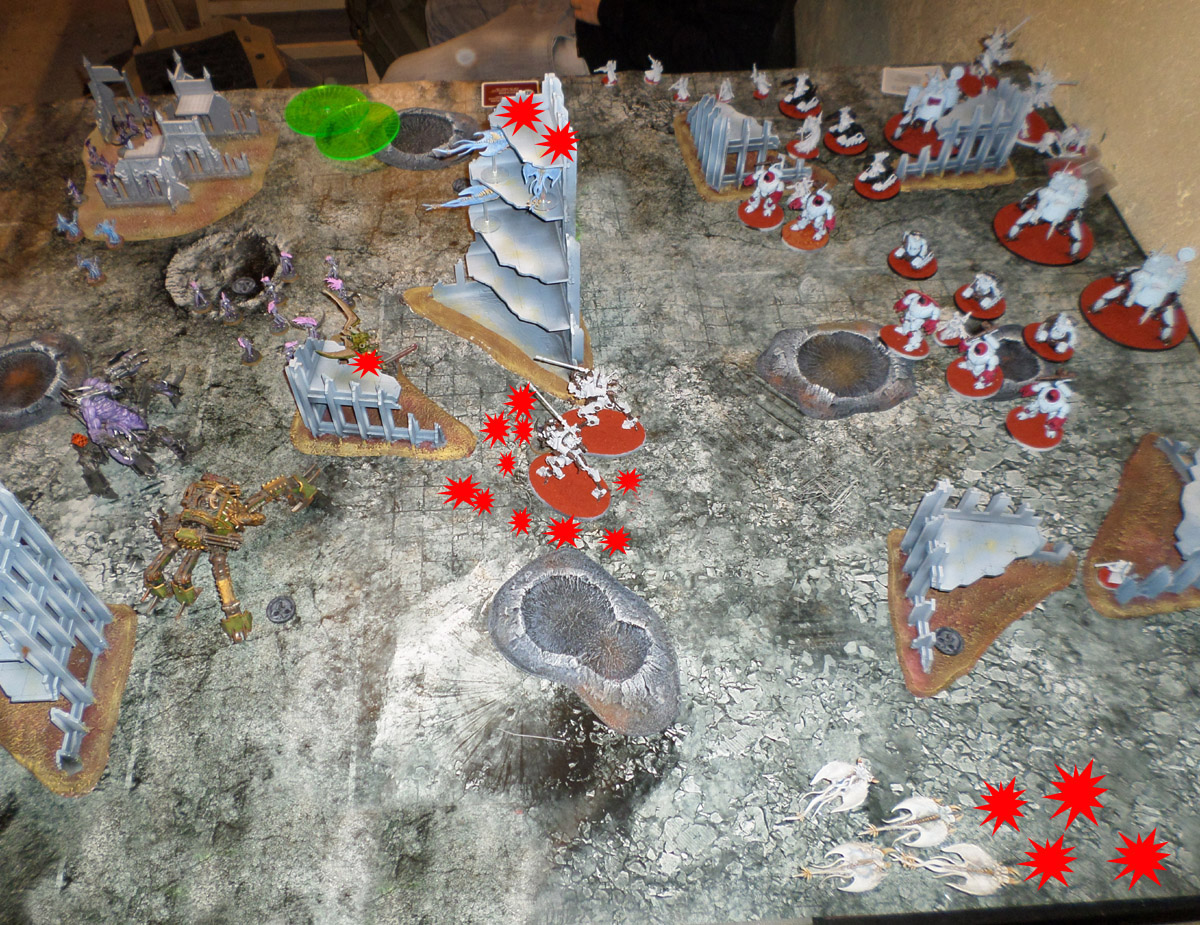 King of the Waaagh 2 - Partie 4/4 - Démons Vs. Cult Mechanicus/Skitarii 170316024202384538