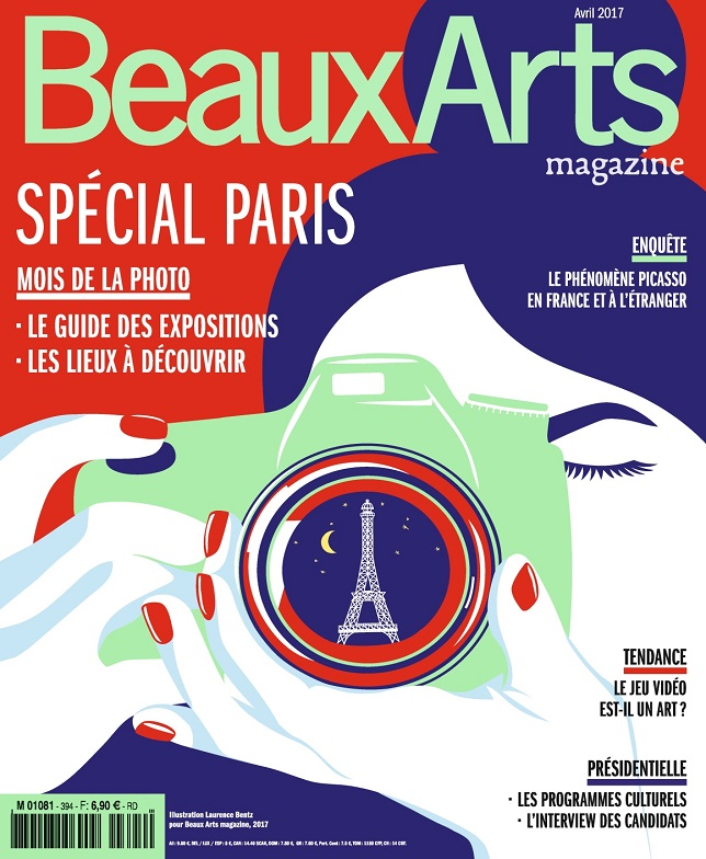 Beaux Arts Magazine N°394 - Avril 2017