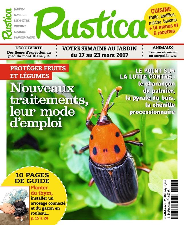 télécharger Rustica N°2464 Du 17 au 23 Mars 2017