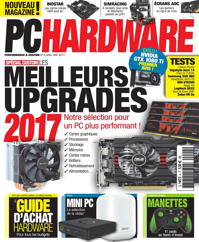 télécharger PC Hardware N°4 - Avril-Mai 2017