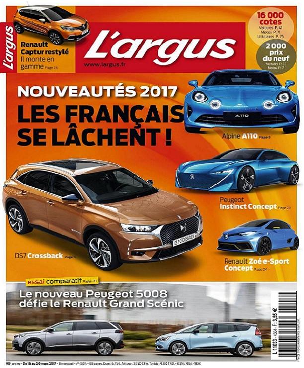 télécharger L'Argus N°4504 Du 16 au 29 Mars 2017