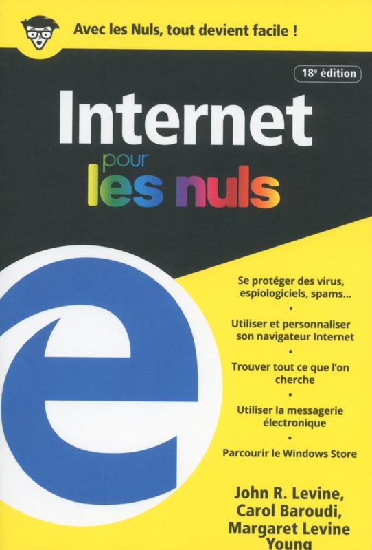 télécharger Internet 18e Edition couleurs Poche Pour les Nuls (2017)