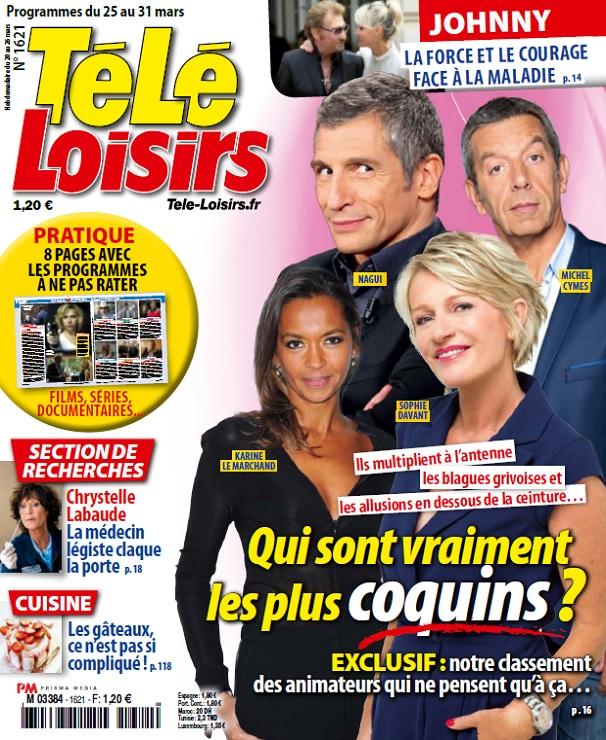 télécharger Télé Loisirs N°1621 Du 25 Au 31 Mars 2017