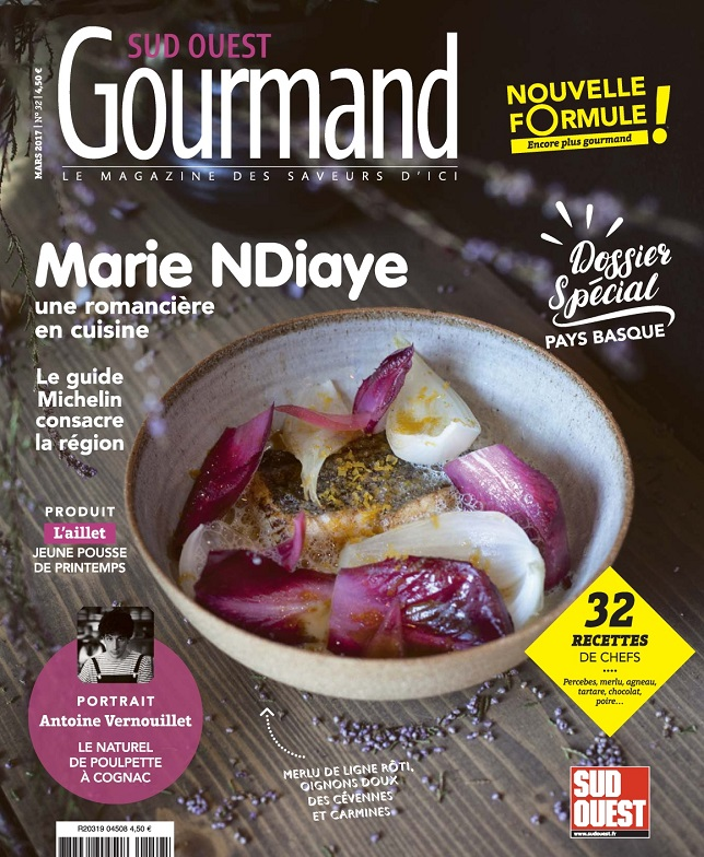 télécharger Sud Ouest Gourmand N°32 - Mars 2017
