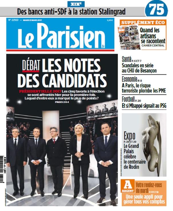 télécharger Le Parisien + Eco + Journal De Paris Du Mardi 21 Mars 2017