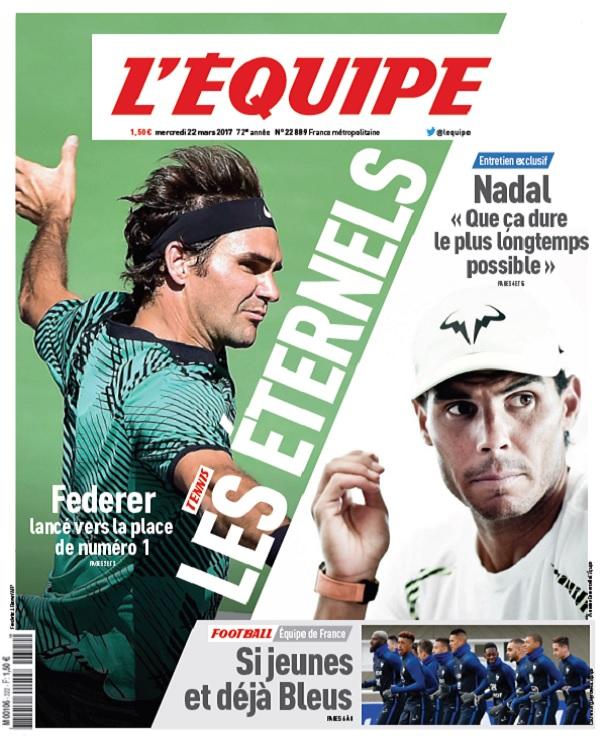 télécharger L'Equipe Du Mercredi 22 Mars 2017