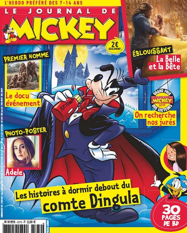 télécharger Le Journal De Mickey N°3379 Du 22 Mars 2017
