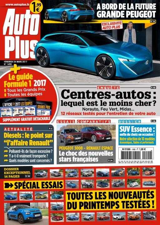 Auto Plus N°1490 - 24 au 30 Mars 2017