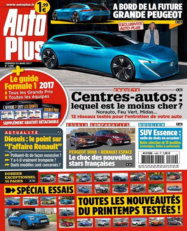 télécharger Auto Plus N°1490 Du 24 au 30 Mars 2017
