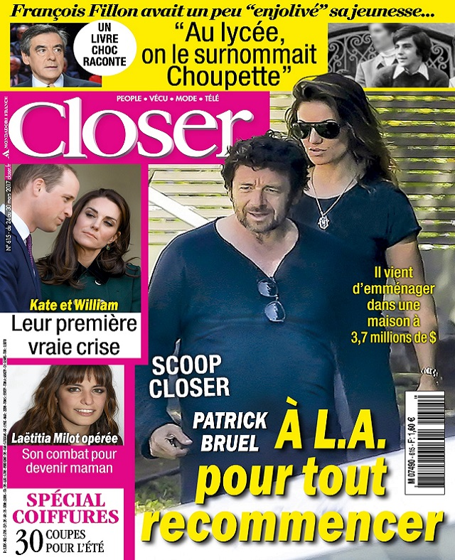 télécharger Closer N°615 Du 24 au 30 Mars 2017