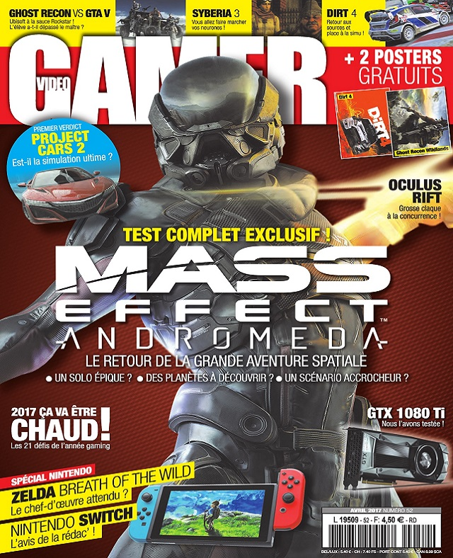 télécharger Video Gamer N°52 - Avril 2017