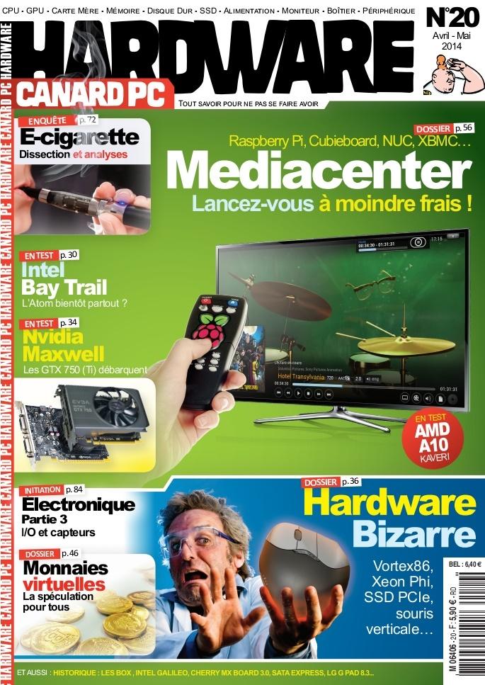 Canard PC Hardware N°20 - Mediacenter : Lancez-vous à Moindre Frais !