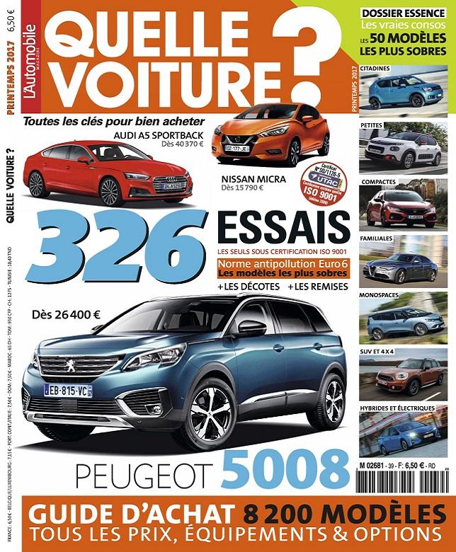 télécharger L'Automobile Hors Série Quelle Voiture N°39 - Printemps 2017