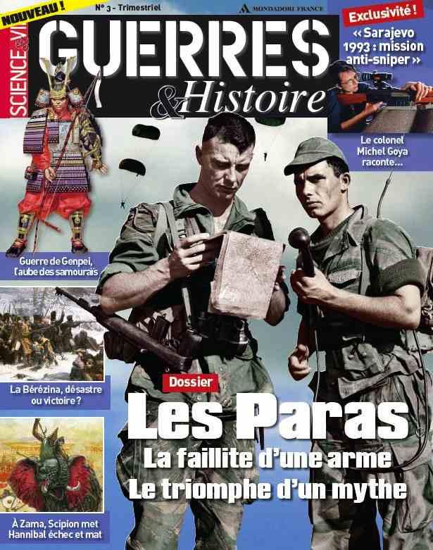 Science & Vie Guerres & Histoire N°3 - Les Paras