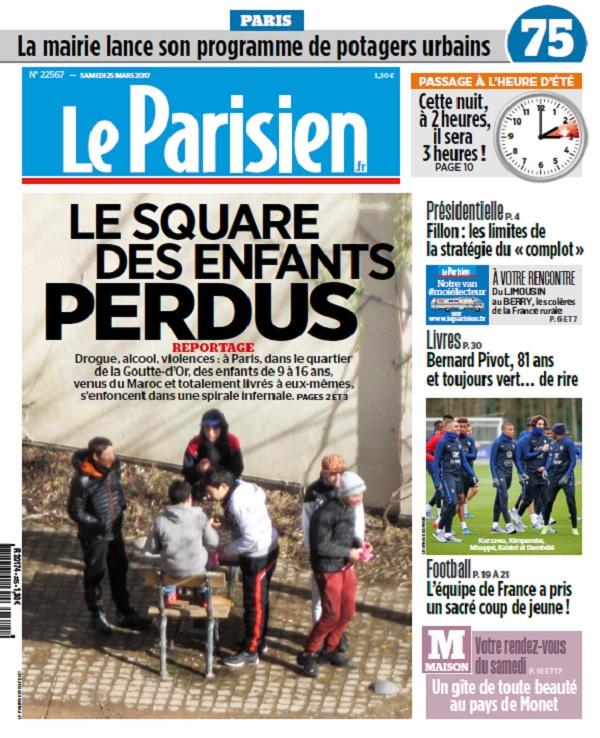 télécharger Le Parisien + Journal De Paris Du Samedi 25 Mars 2017